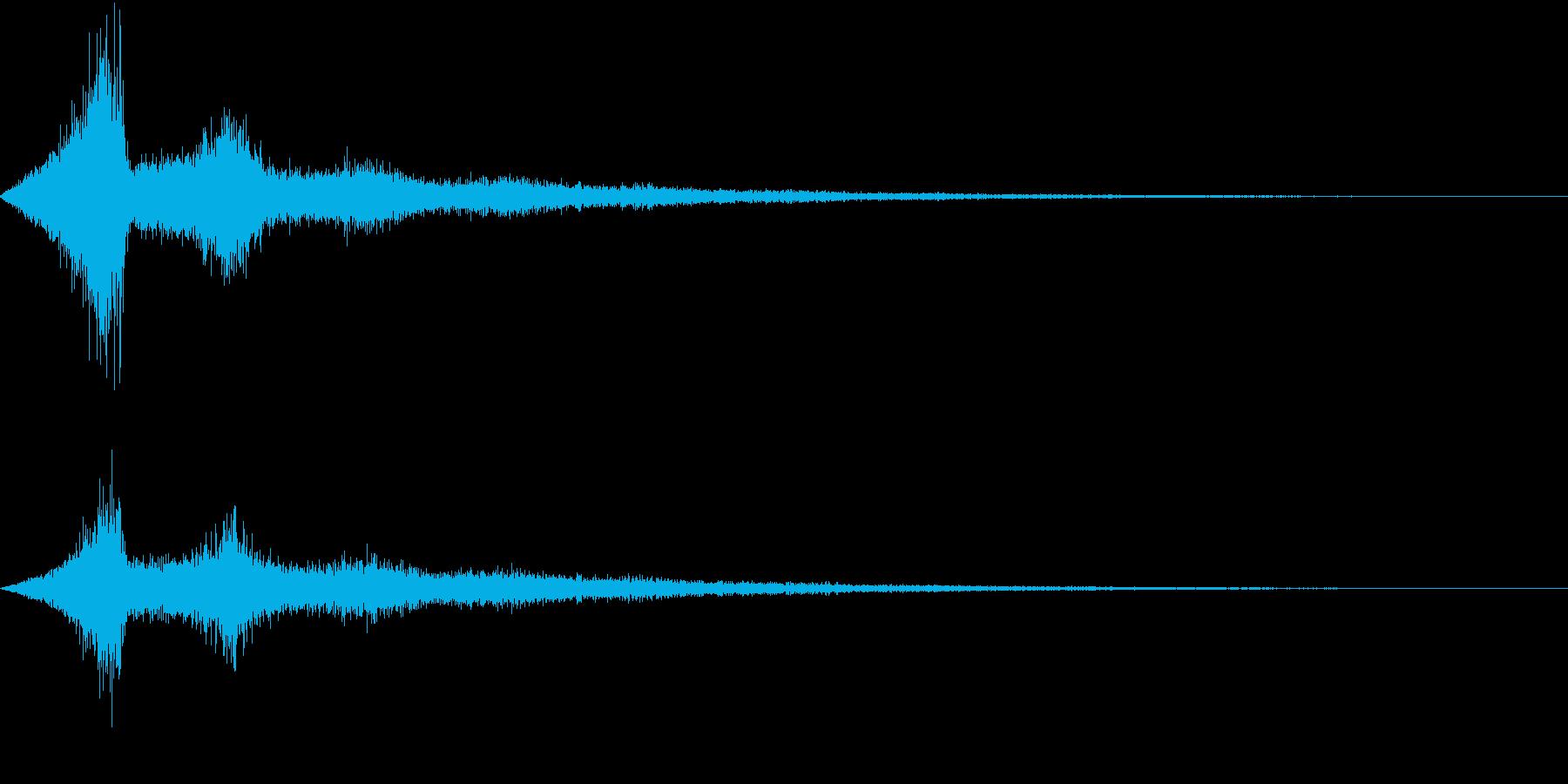 TV RADIO SFX5 強調効果音の再生済みの波形