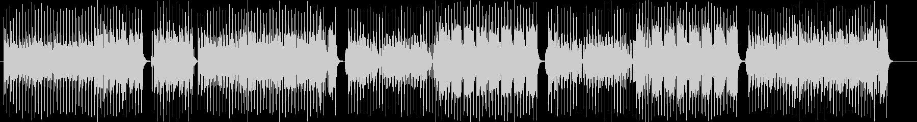 情熱的な吹奏楽シンセサンバ風ポップの未再生の波形