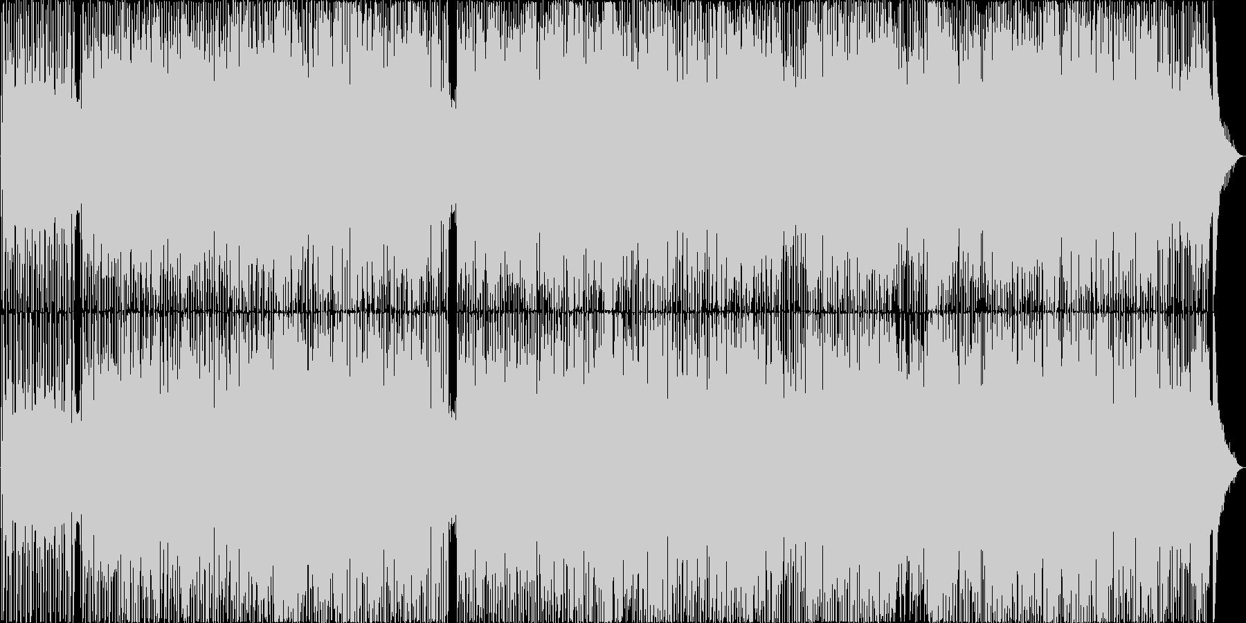 背中を優しく押す、応援ソングの未再生の波形
