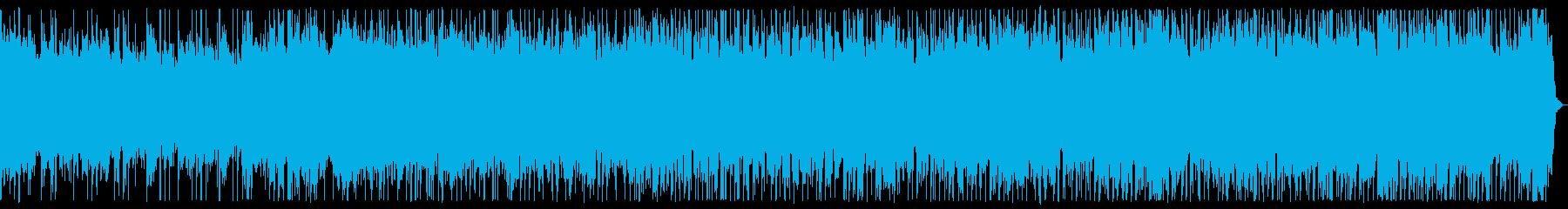 魔の領域 ダークなメタル戦闘曲 背景曲の再生済みの波形