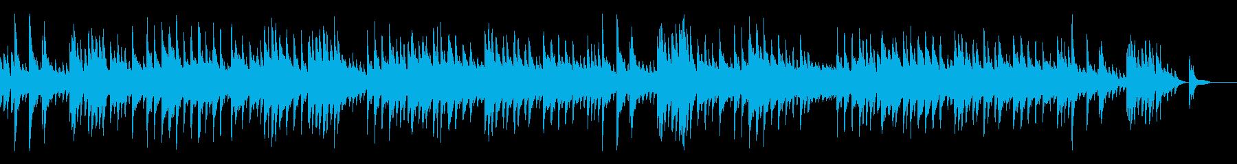 別離・感傷・ピアノの再生済みの波形