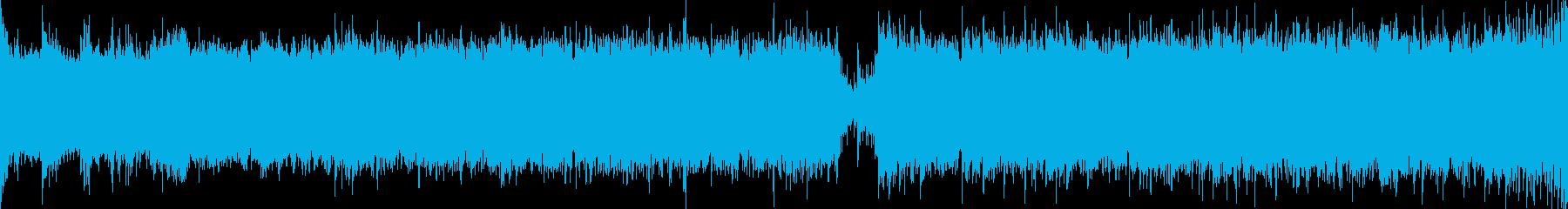ボーカル入りの幻想的、壮大な曲/ループ可の再生済みの波形