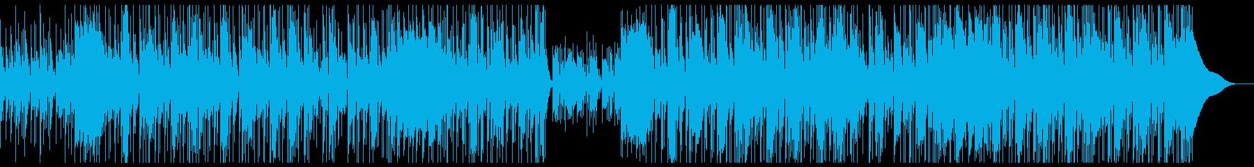 サイバー メカメカしい無骨なビート感の再生済みの波形