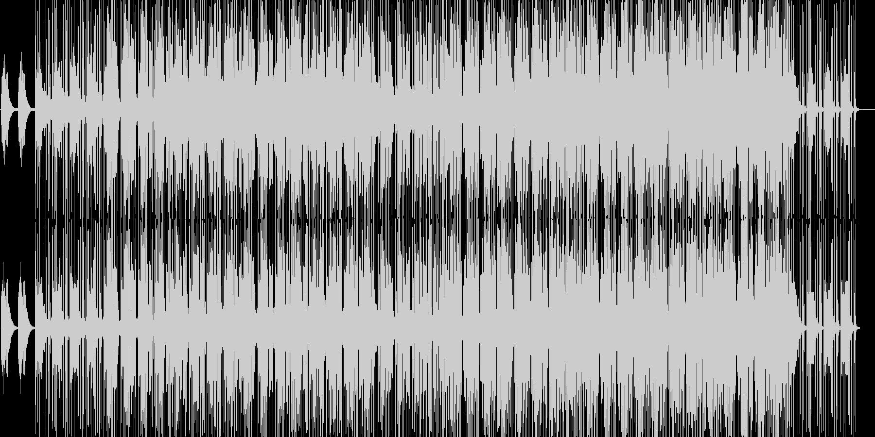 ピアノがメインのアンビエントミュージックの未再生の波形