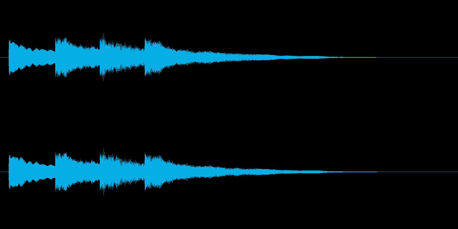 【チャイム 学校02-03】の再生済みの波形