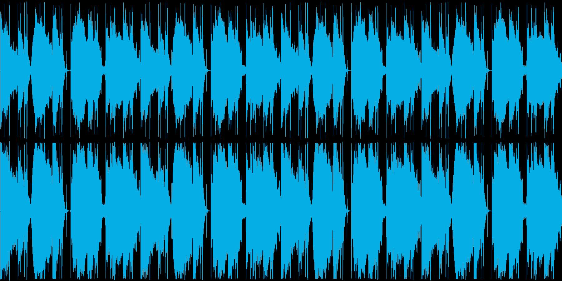 【休日/のんびり/ハワイアンポップ】の再生済みの波形