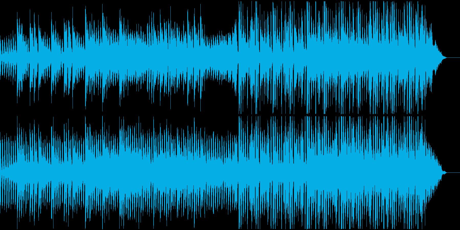 企業VP質実剛健で映像に寄り添うBGMの再生済みの波形