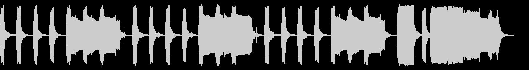 ほのぼの+日常なリコーダージングルの未再生の波形