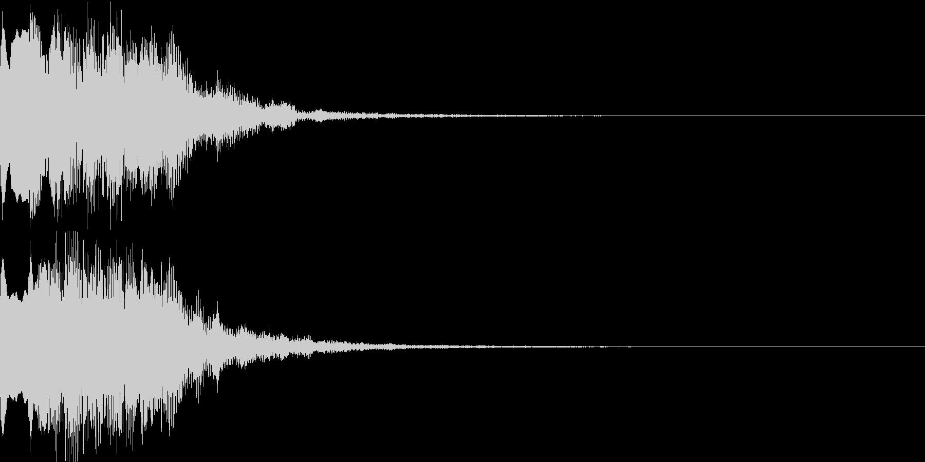 不思議な音08の未再生の波形