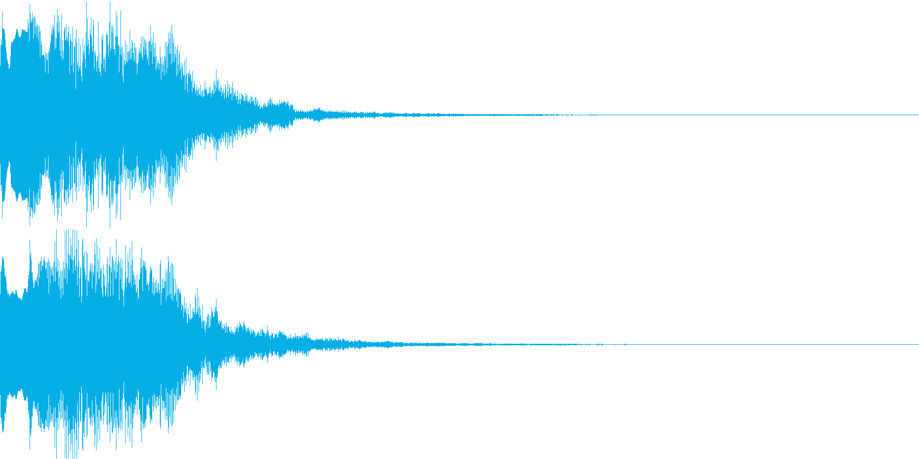 不思議な音08の再生済みの波形