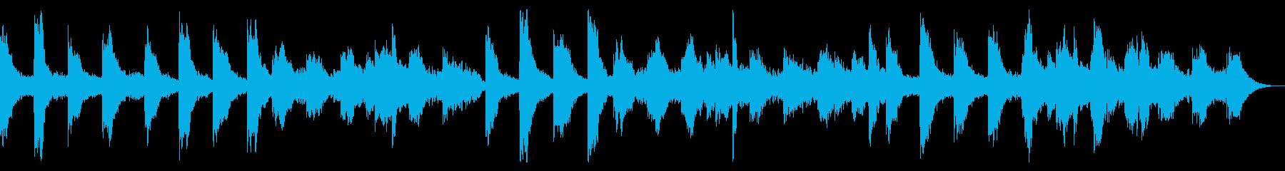 ホラー向けダークアンビエント 怪しい感じの再生済みの波形