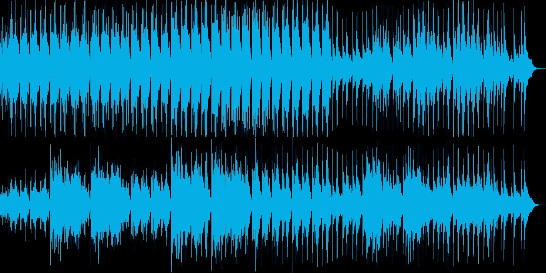 雅楽を感じさせる神秘的な和風の曲の再生済みの波形