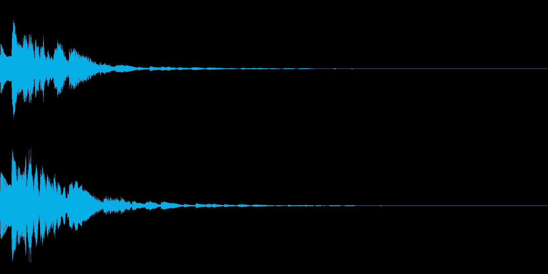 GameSFX ゲーム内の効果音 2の再生済みの波形