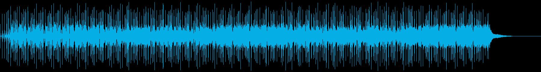 軽快でほのぼのとしたアコギBGMの再生済みの波形
