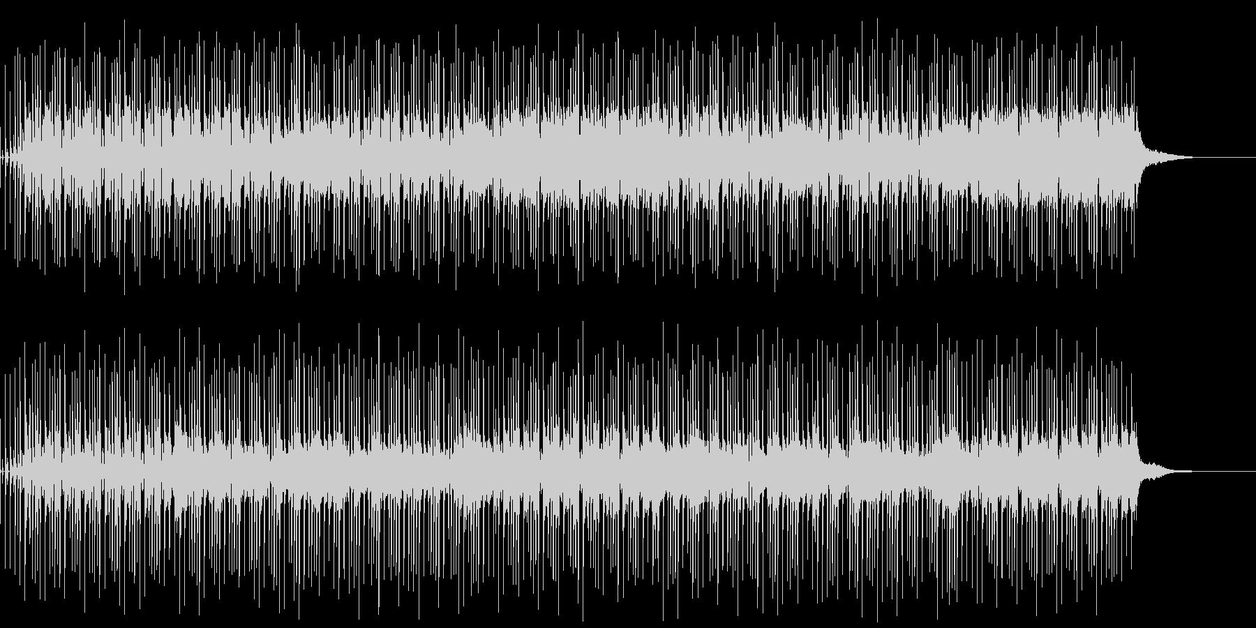 軽快でほのぼのとしたアコギBGMの未再生の波形