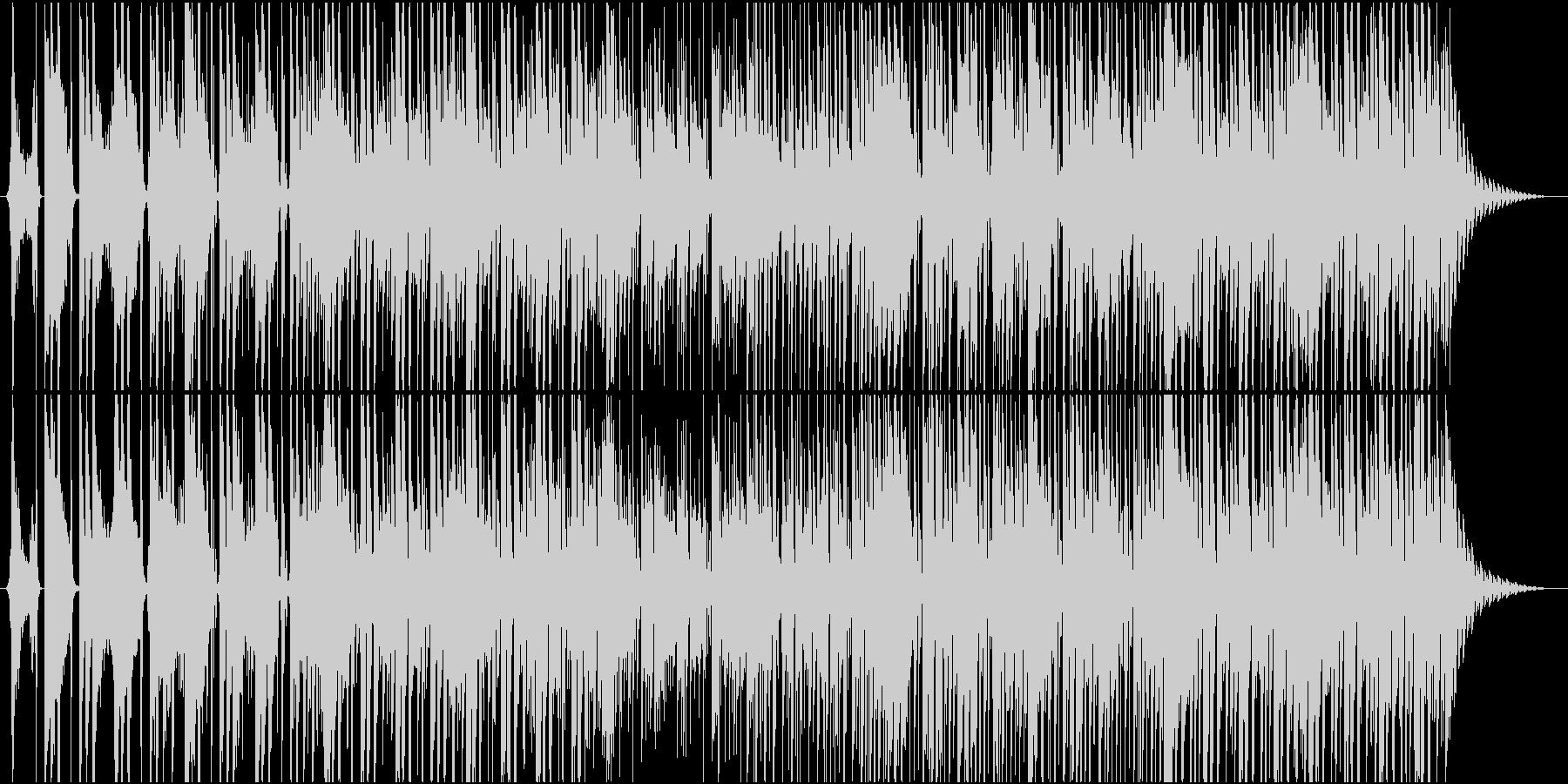 ボイスサンプルによるEDMポップの未再生の波形