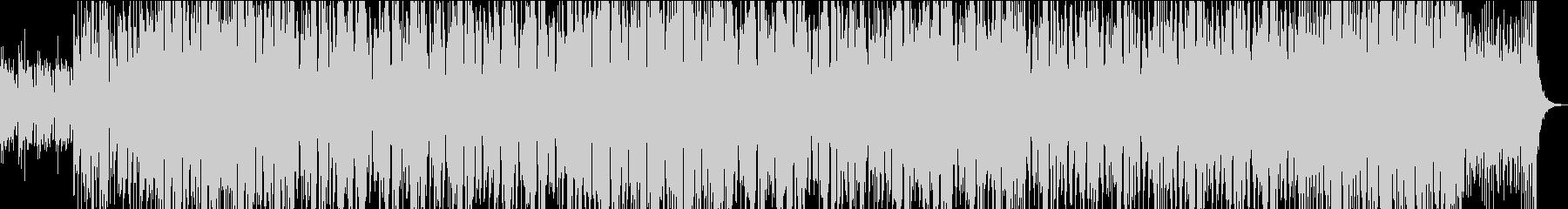 二胡による和風・中華風EDM Part1の未再生の波形