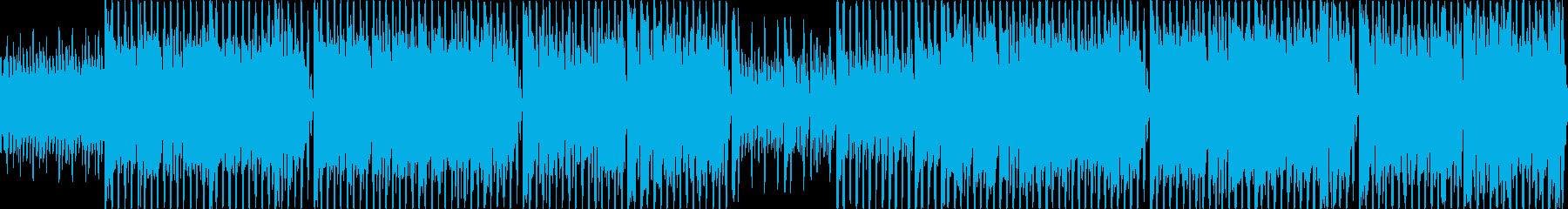 ゲームBGM アクション、パズル等の再生済みの波形