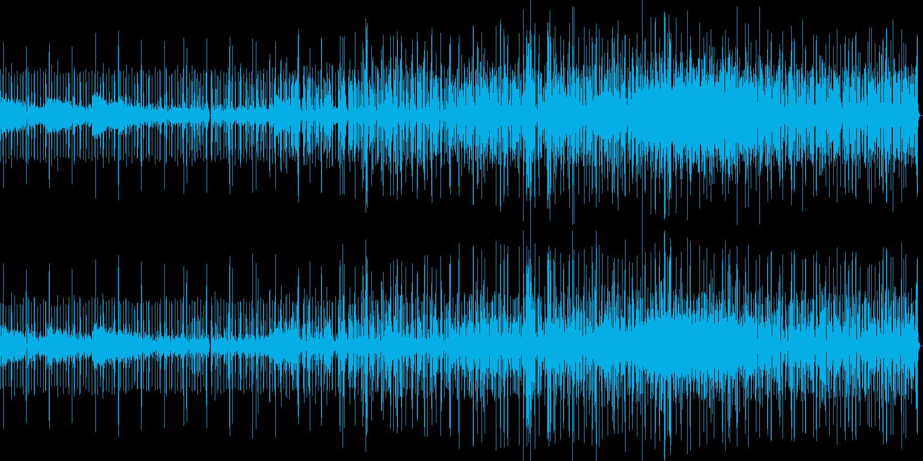 実験音楽の再生済みの波形