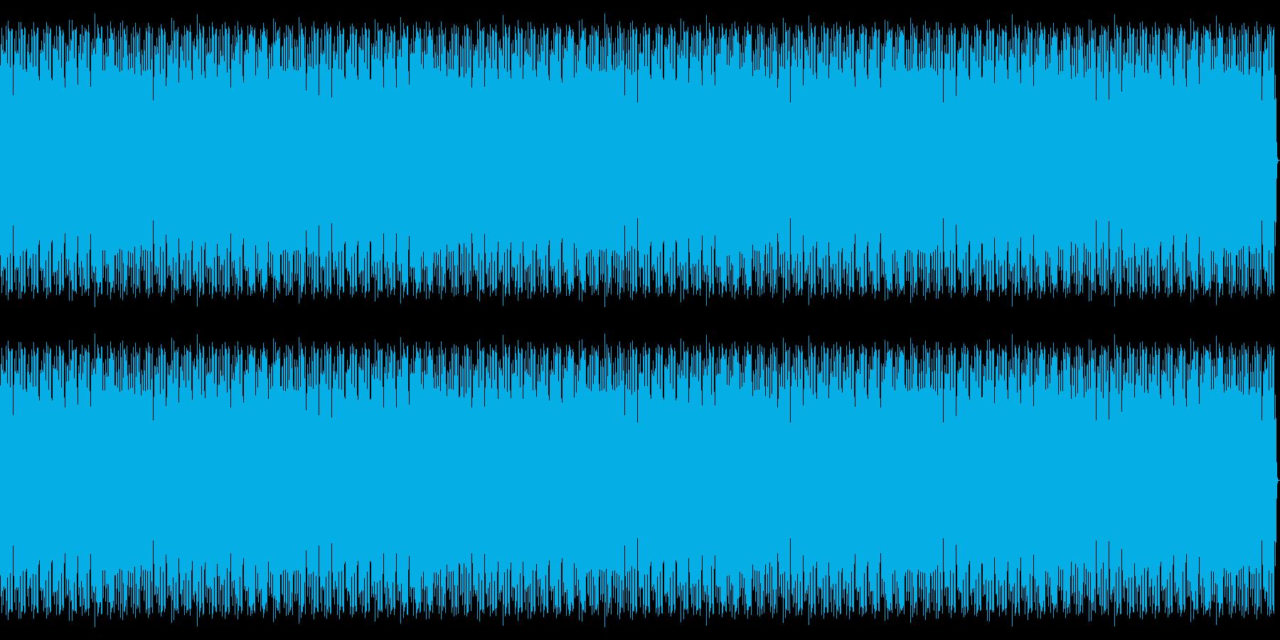 特撮にありそうな飛行音の再生済みの波形