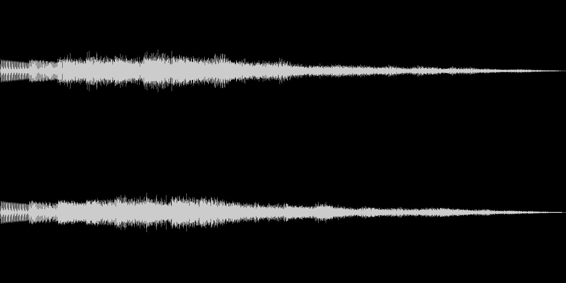 ピロリロリロリン レベルアップ発見 02の未再生の波形