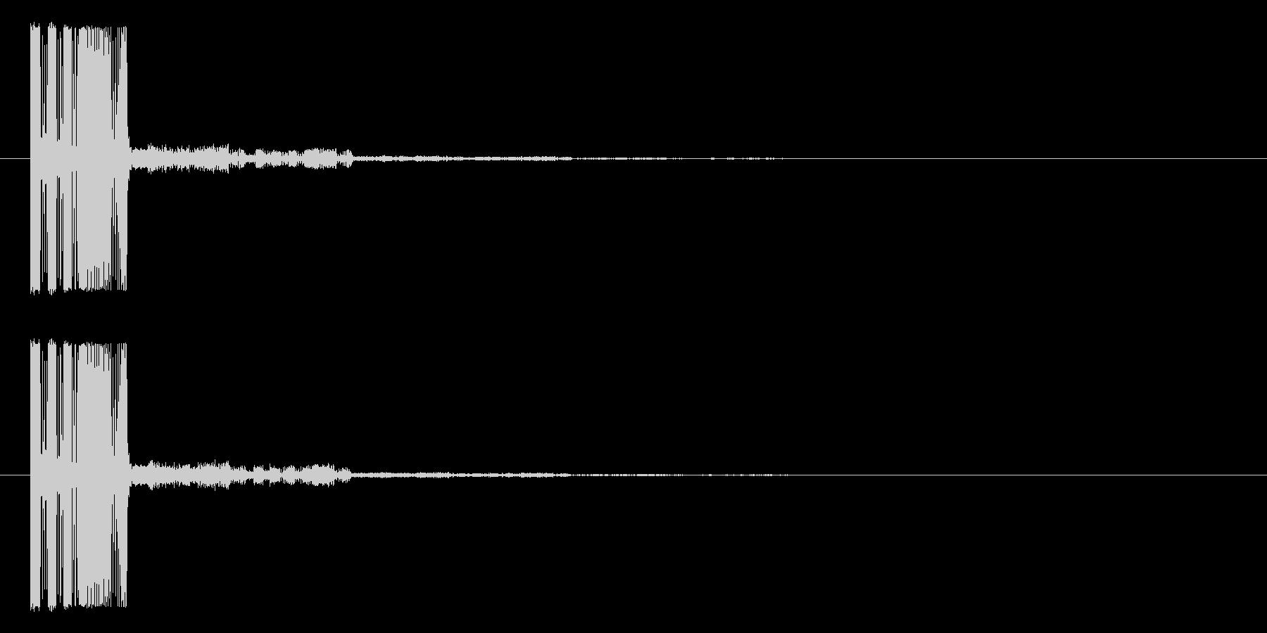 シューティング_被弾_ファミコン風3の未再生の波形