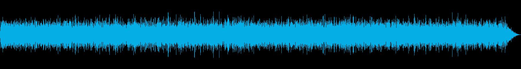 テレビ 砂嵐音 ノイズ ザー 低めのザーの再生済みの波形
