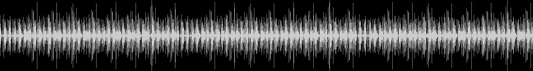 手拍子、爽やかなBGMの未再生の波形
