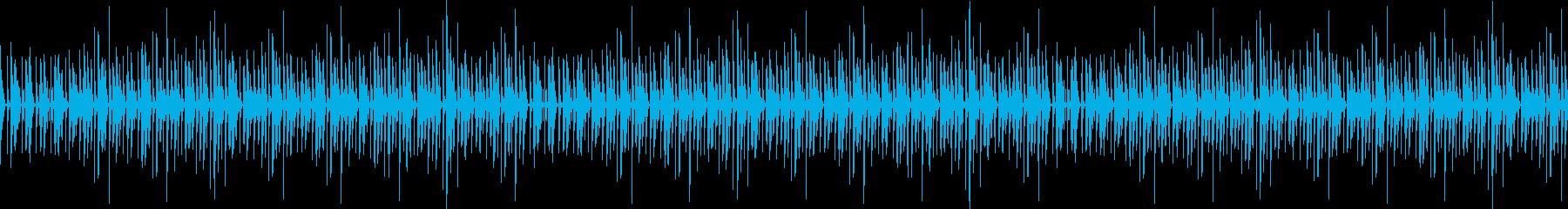 手拍子、爽やかなBGMの再生済みの波形