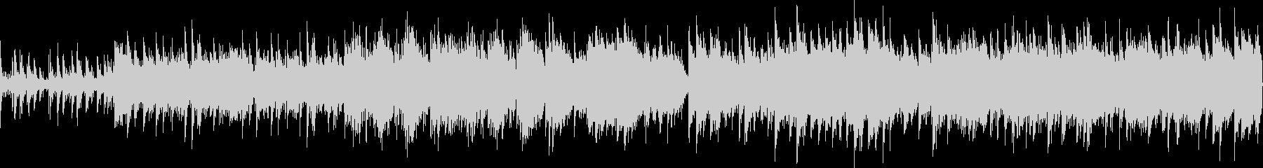 ピアノ旋律が印象的なバラード(ループ)の未再生の波形