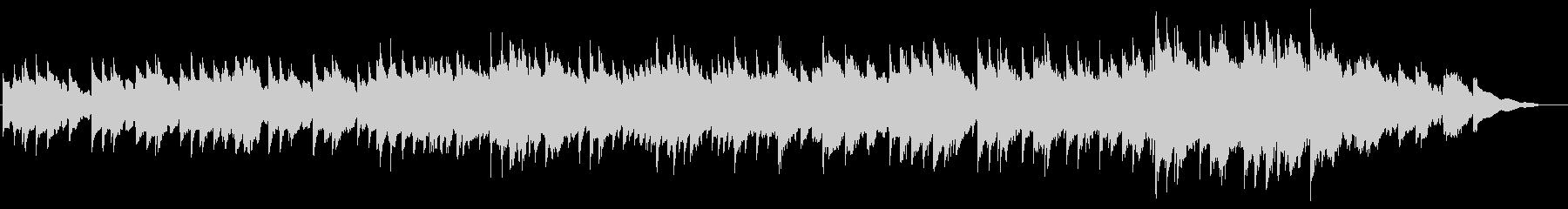 シンセベル音での、ワーグナーの結婚行進曲の未再生の波形