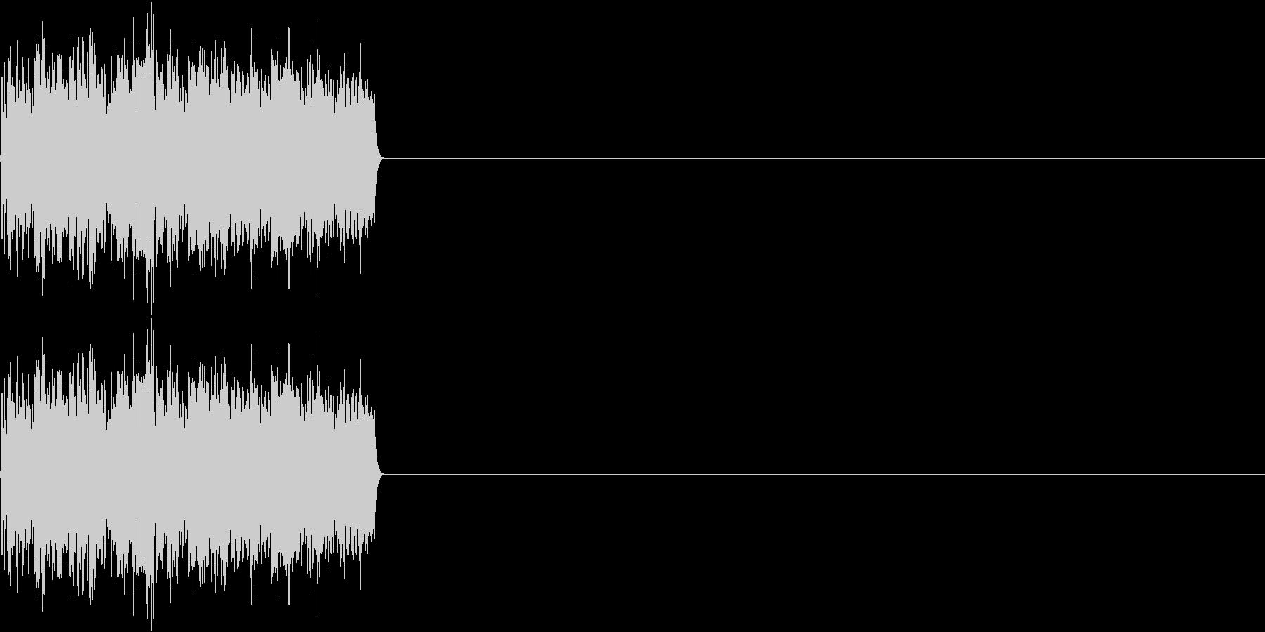 8ビット ファミコン アップ ゲージの未再生の波形