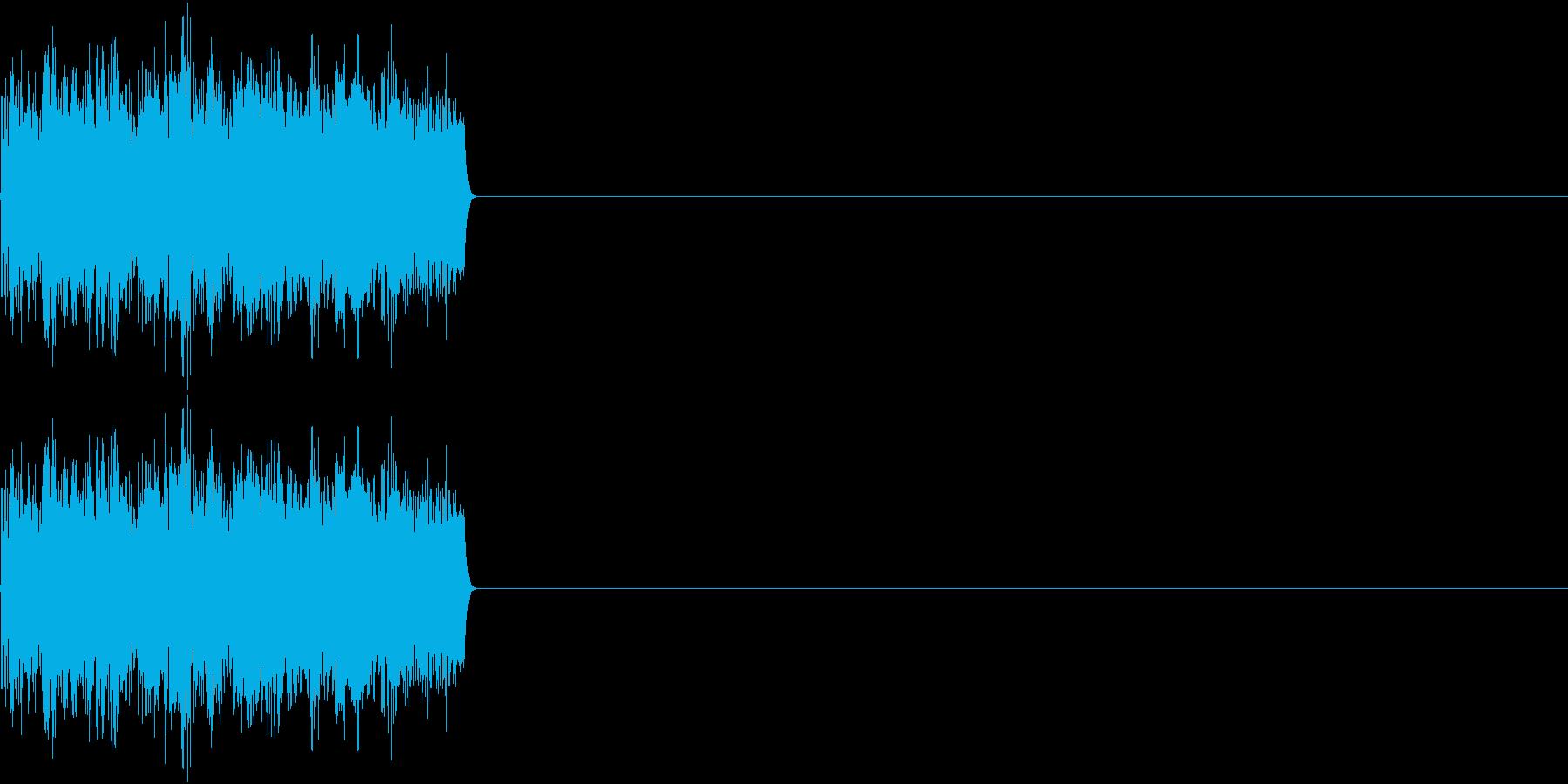 8ビット ファミコン アップ ゲージの再生済みの波形