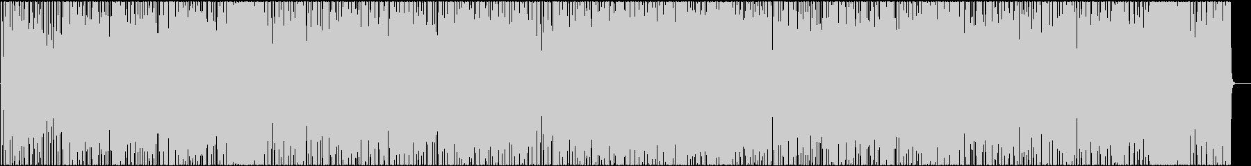 不思議な雰囲気のJAZZの未再生の波形