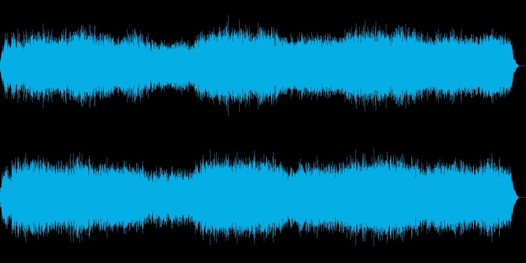 宇宙をイメージして作りました。の再生済みの波形