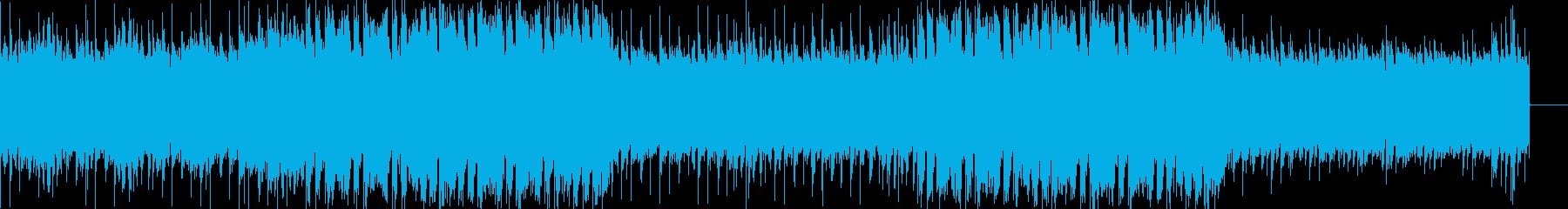 安定感のあるEDM風の再生済みの波形