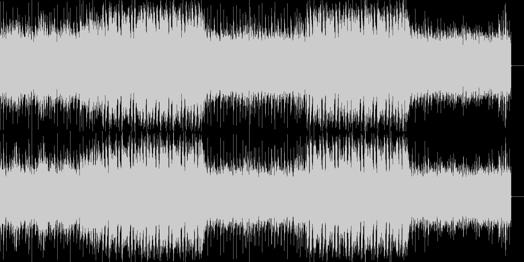 安定感のあるEDM風の未再生の波形
