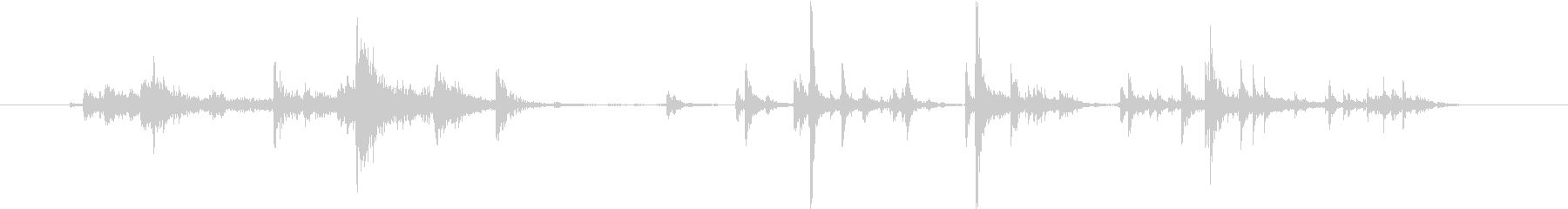 【生録音】自動販売機で飲み物を買う音の未再生の波形