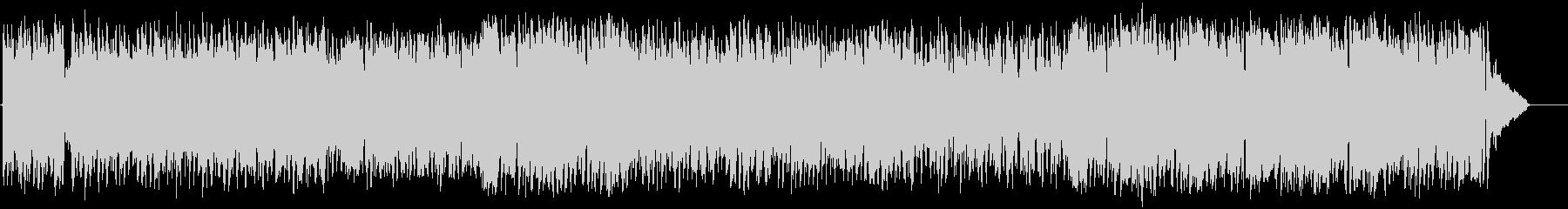 懐しいビッグバンドジャズ(フルサイズ)の未再生の波形