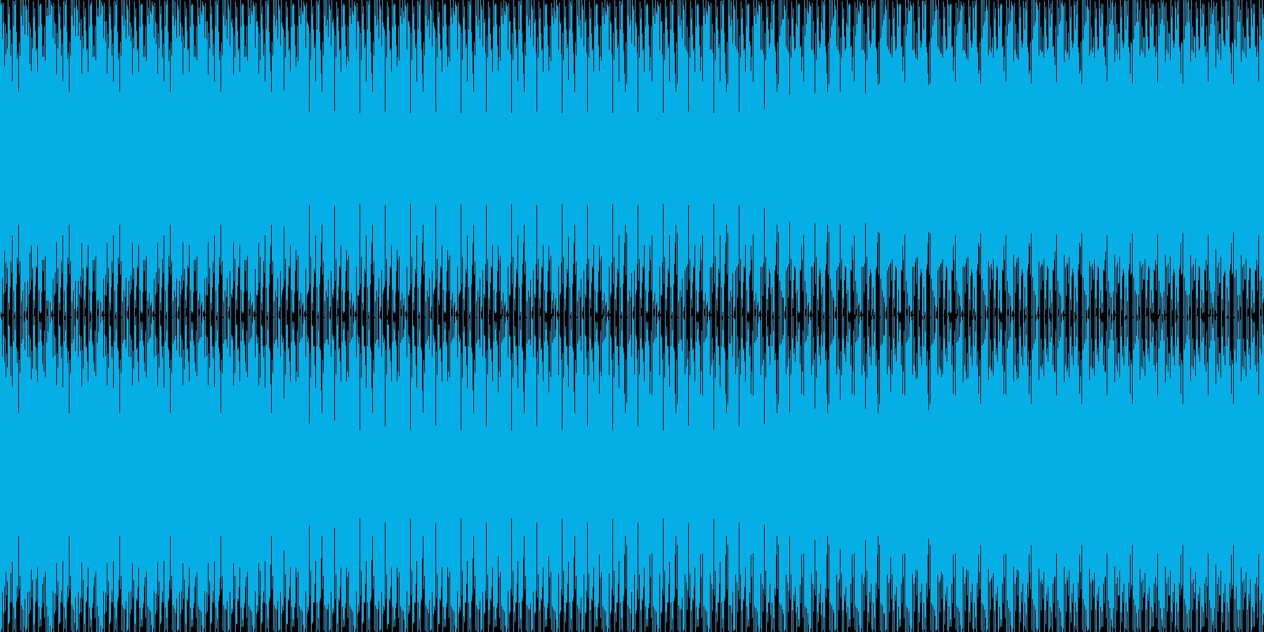 前向きの様で少し怪しい音、エンディング…の再生済みの波形