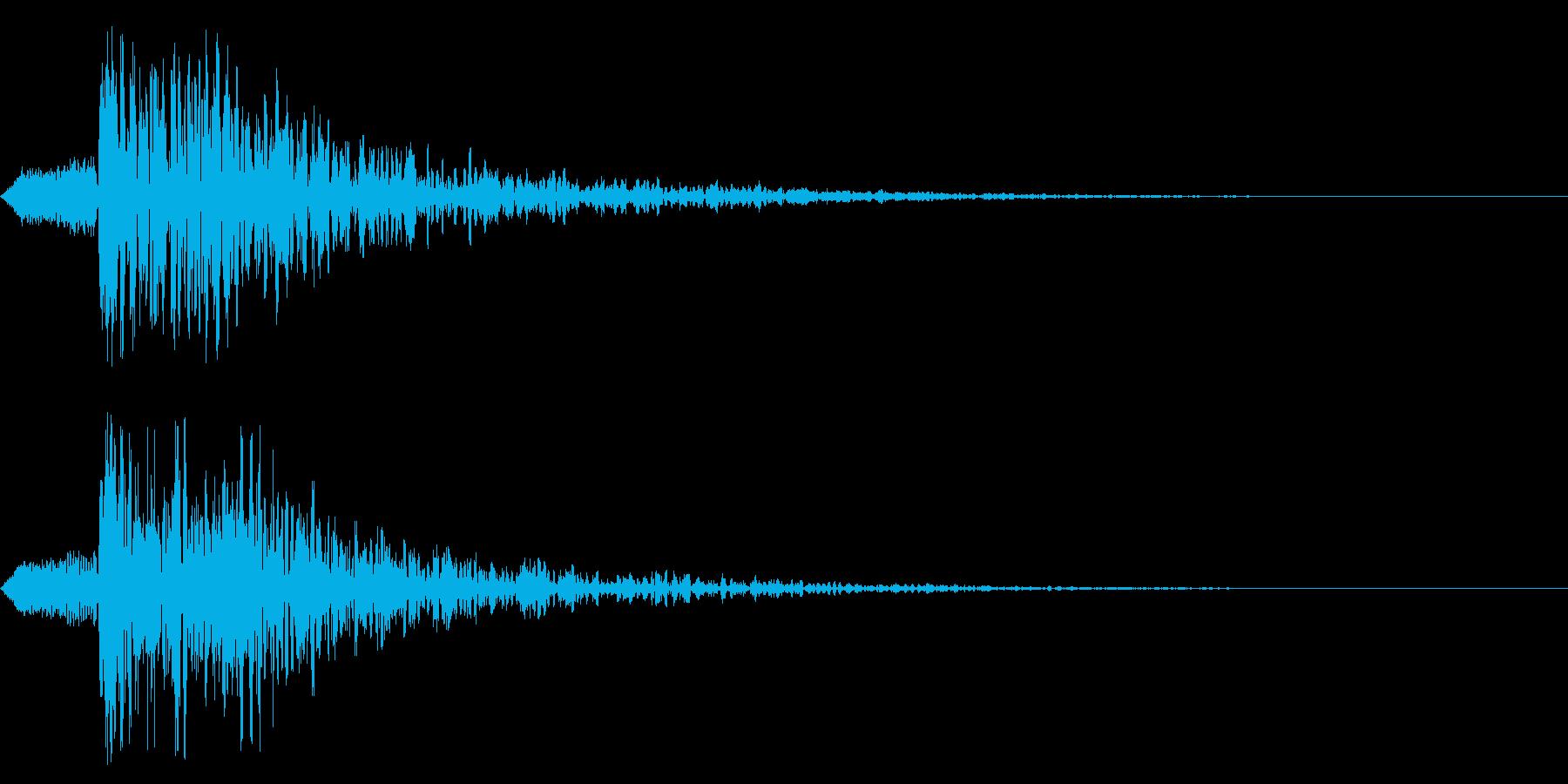 シネマティック ヒット! 爆発!01の再生済みの波形