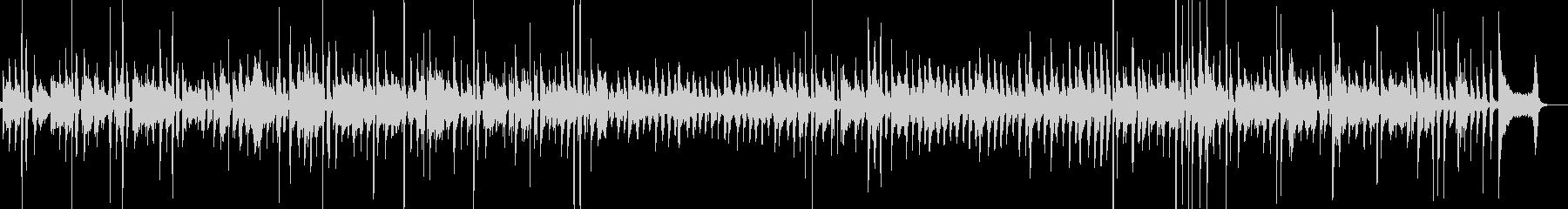 ブルースっぽいアコギサウンドの未再生の波形