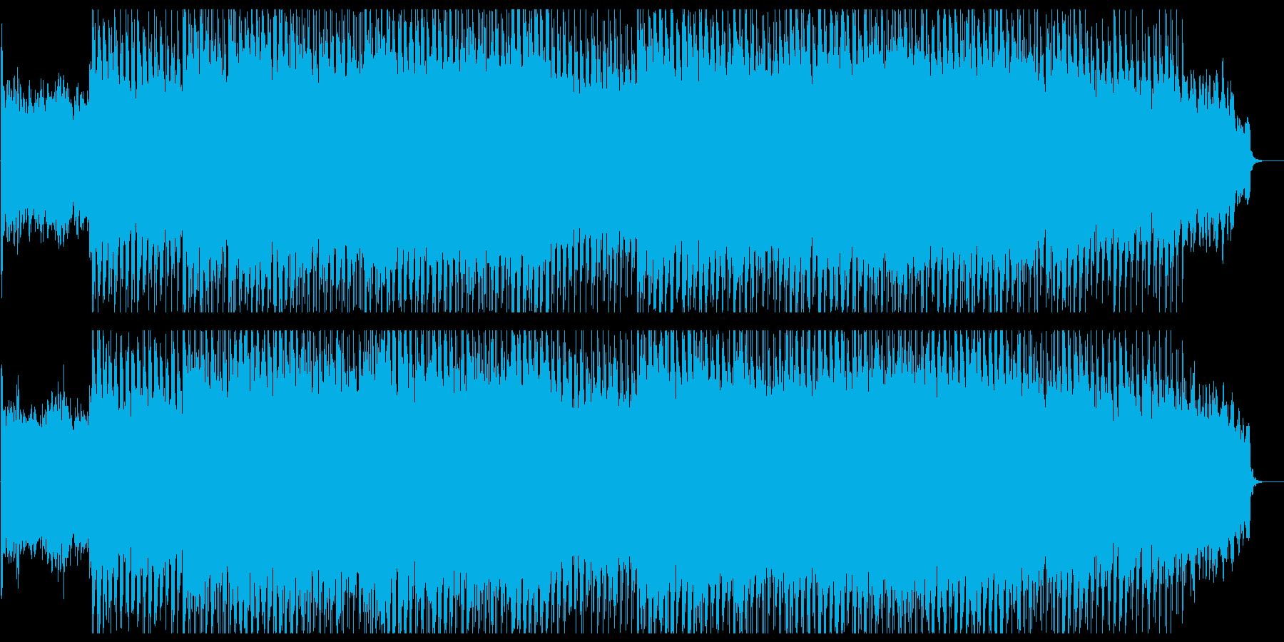 繊細でメローなテクノポップの再生済みの波形