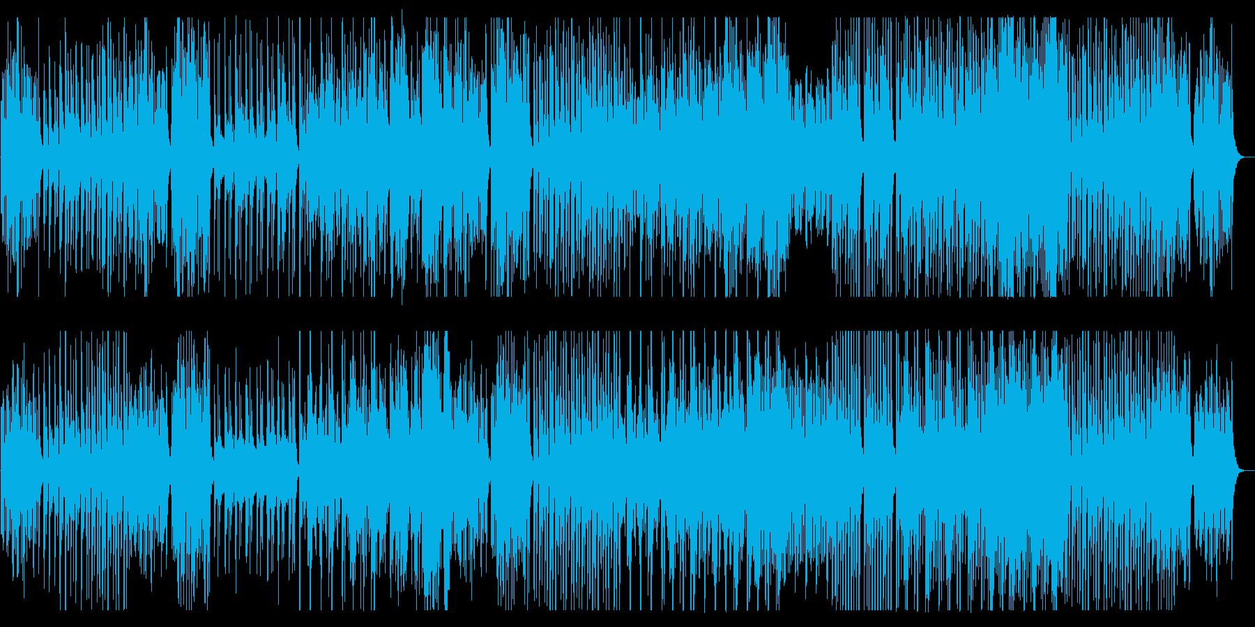 軽妙かつドラマチックなメロディの再生済みの波形