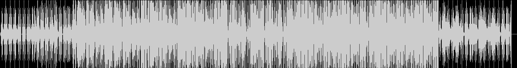 迷宮の探索をイメージしたカットアップの未再生の波形