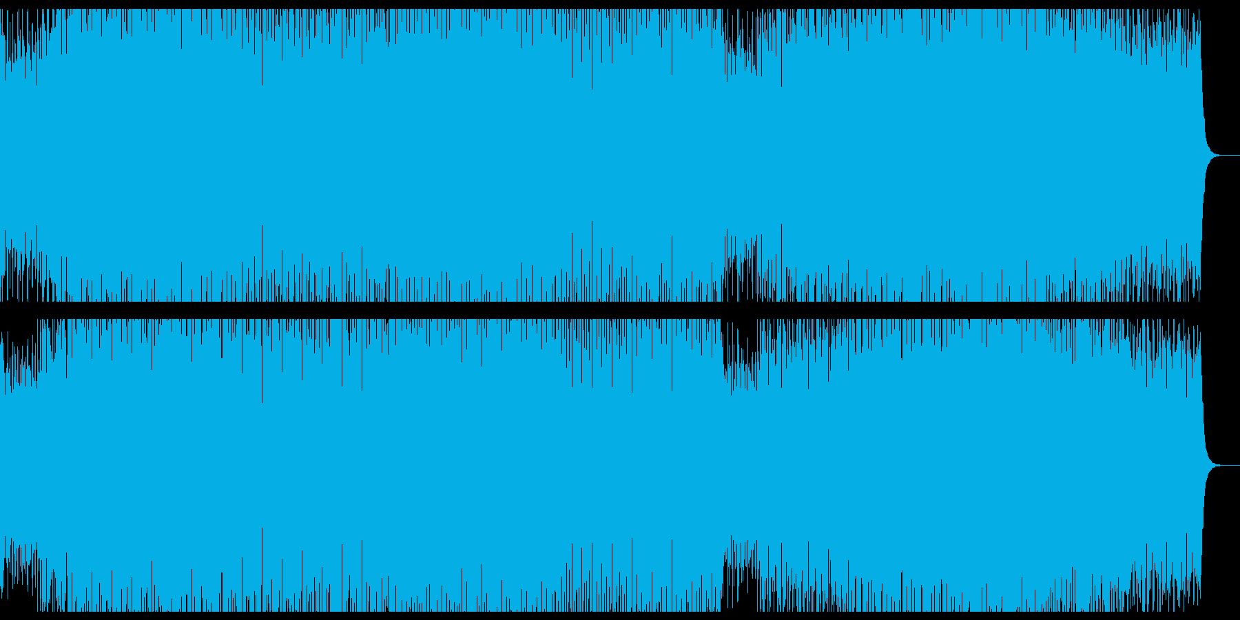 ピアノ刻みの哀愁系定番ハウス。の再生済みの波形
