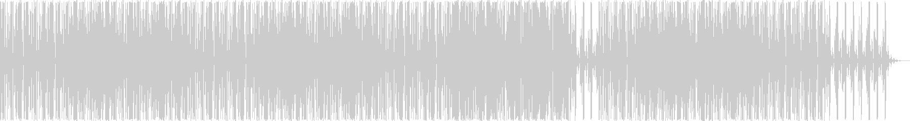 ファミコン風 8bit  レトロの未再生の波形