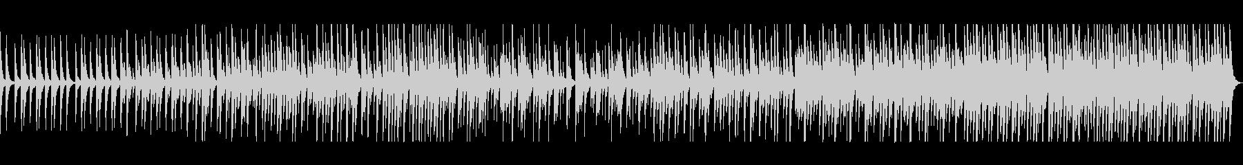 木琴とピアノのミニマル・ミュージックの未再生の波形