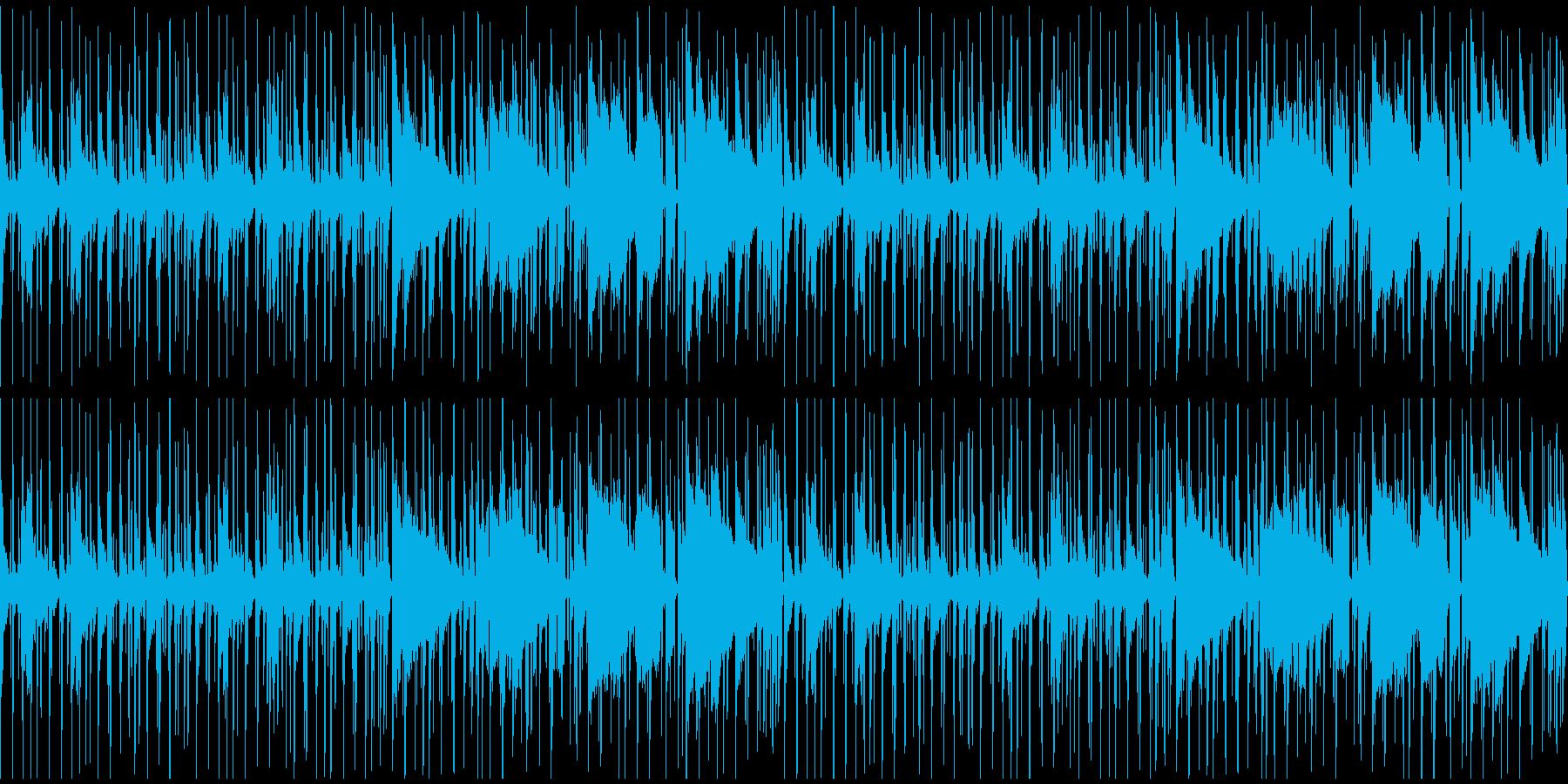 【ほのぼのオシャレな大人ジャズ】の再生済みの波形