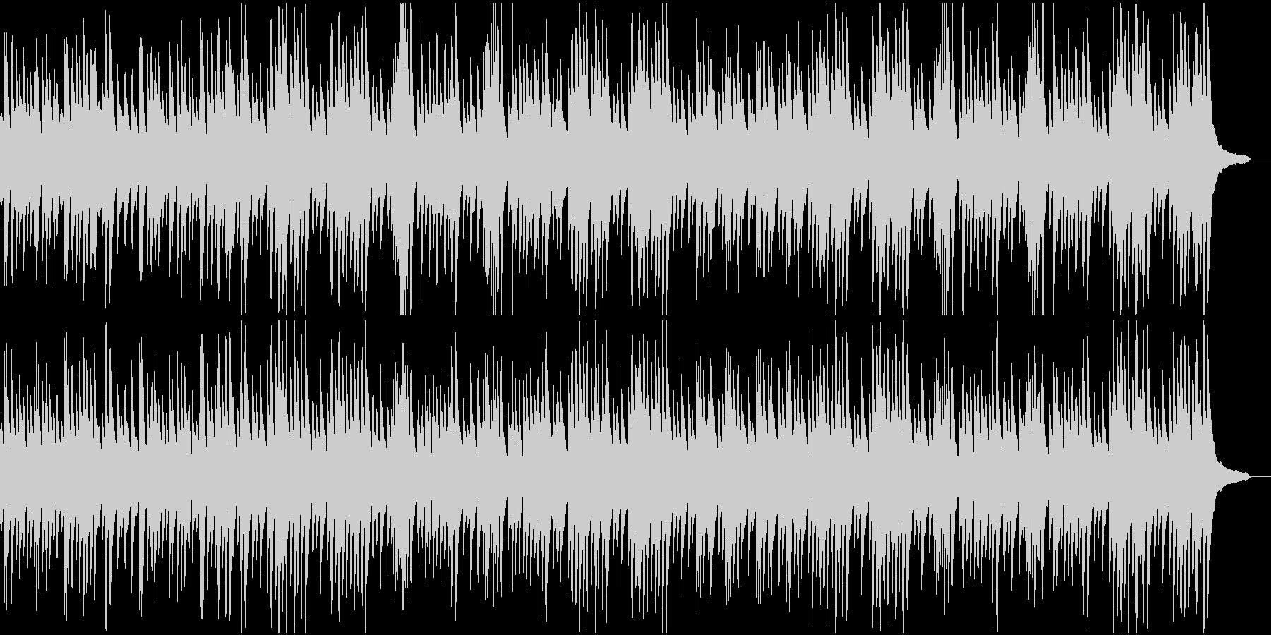 ピアノ名曲サティ まったりした異国風の未再生の波形